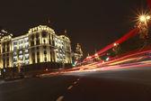Shanghai bund europäischer prägung gebäude nachtsicht — Stockfoto