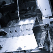 CNC milling ,Machine tool — Stock Photo