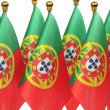 Flags of Portugal — Stock Photo