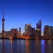 Постер, плакат: Shanghai Bund Garden Bridge at dawn attractions landscape