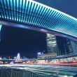 Shanghai Lujiazui highway at night — Stock Photo