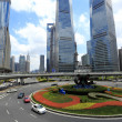 Stock Photo: Street scene of century avenue in shanghai Pudong
