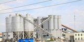 Warehouses Storage tank — Stock Photo
