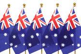 Flags of Australia — Stock Photo