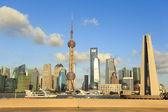 Shanghai's modern architecture cityscape skyline — Foto de Stock