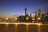 Shanghai Skyline — Stockfoto