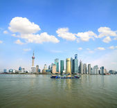 Shanghai's modern architecture cityscape skyline in the Far East — Stock fotografie