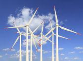 Modern wind turbines Green Energy — Stock Photo
