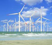 Wind turbines — Stock Photo