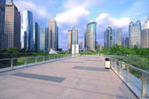 Shanghai Lujiazui city building landscape — Stock Photo