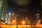 Shanghai Lujiazui city night Landscape — Stock Photo