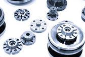Metal alloy gear — Stock Photo