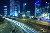 Shanghai at night — Foto Stock