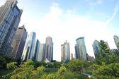 Shanghai Lujiazui city landscape — Stock Photo