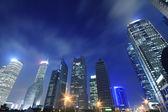 Shanghai modern city night backgrounds  — Stock Photo