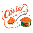 Caviar — Stock Vector