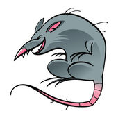 Rat mouse rodent — Wektor stockowy