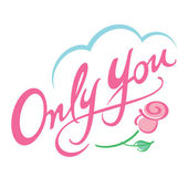 Only You — Stock Vector