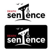 Death sentence — Stock Vector