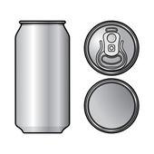 Lata de alumínio — Vetorial Stock