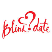 Blind Date — Vector de stock