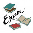 Exam — Stock Vector