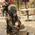 Native maya dancer — Stock Photo #12073215
