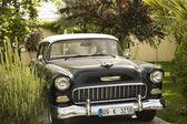 五十年的老美国车 — 图库照片