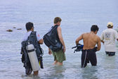 Nurkowania na morzu karaibskim — Zdjęcie stockowe