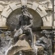 Neptune fountain sculpture details — Stock Photo #12717318