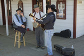 Old timers senior musicians — Стоковое фото
