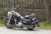 Harley-Davidson motorcycle — Stock Photo