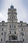 Parliament building in Quebec city — Foto Stock
