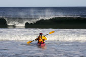 Kayak surf — Foto de Stock