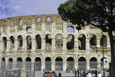 Colosseum or Flavian Amphitheater  — Stock Photo