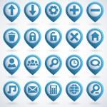 Web Icon Set — Stock Vector #13351416