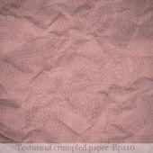Textura de papel amassado — Vetorial Stock