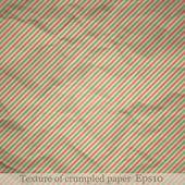 Textuur van verfrommeld papier — Stockvector