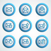 Message icons — Stock Vector