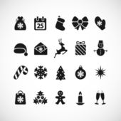 Christmas icons — Stockvektor