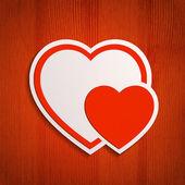Valentine's Day background — Wektor stockowy