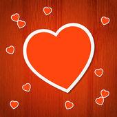 Heart back_7 — Stock vektor