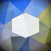 Geometric frame — Vector de stock