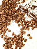 Heap of coffee background — Stock Photo