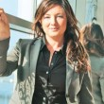 Pretty business lady — Stock Photo