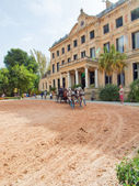 Open Manage in The Royal Andalucían School of Equestrian Art — Fotografia Stock