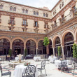 Стоковое фото: Atrium in Seville, Andalusia, Spain