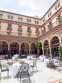 西班牙塞维利亚,西安大路,中庭 — 图库照片