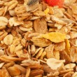 Stock Photo: Muesli background texture. macro