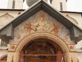 Antique fresco- monastery (Russia, Tikhvin) — Stok fotoğraf